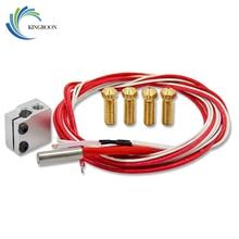 KINGROON Volkan Patlaması Isı Blok kartuş ısıtıcı 12V40W Meme Termistör Sensörleri HotEnd Set V5 V6 1.75mm 3D Yazıcı Parçaları