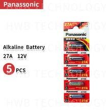 Panasonic 27a a27 12v alarme-remoto, seco, bateria alcalina 27ae 27mn, alta capacidade, controle remoto brinquedos calculadora campainha