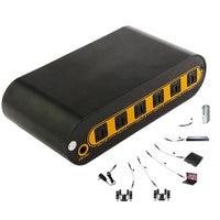 New Hot Audio Matrix 4 in 2 Out Digital Optical Audio Video Converter SPDIF Splitter Adapter