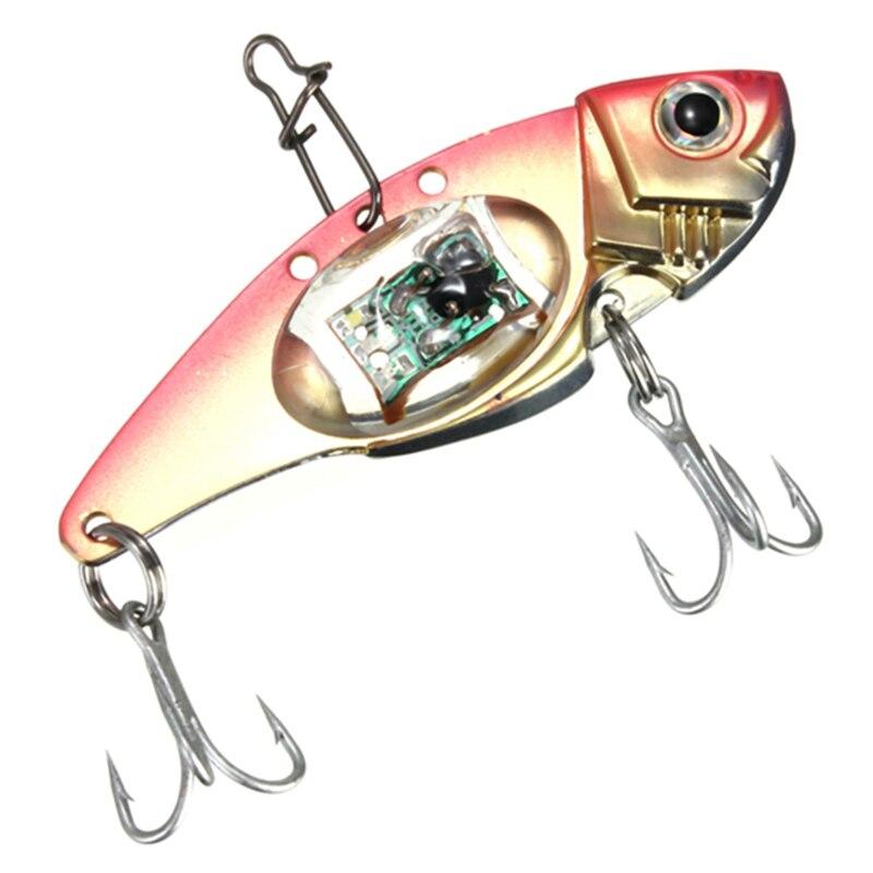 LED Fish Lure Bait Light Deepwater Fishing Flashing Lamp Tackle Hooks Outdoor