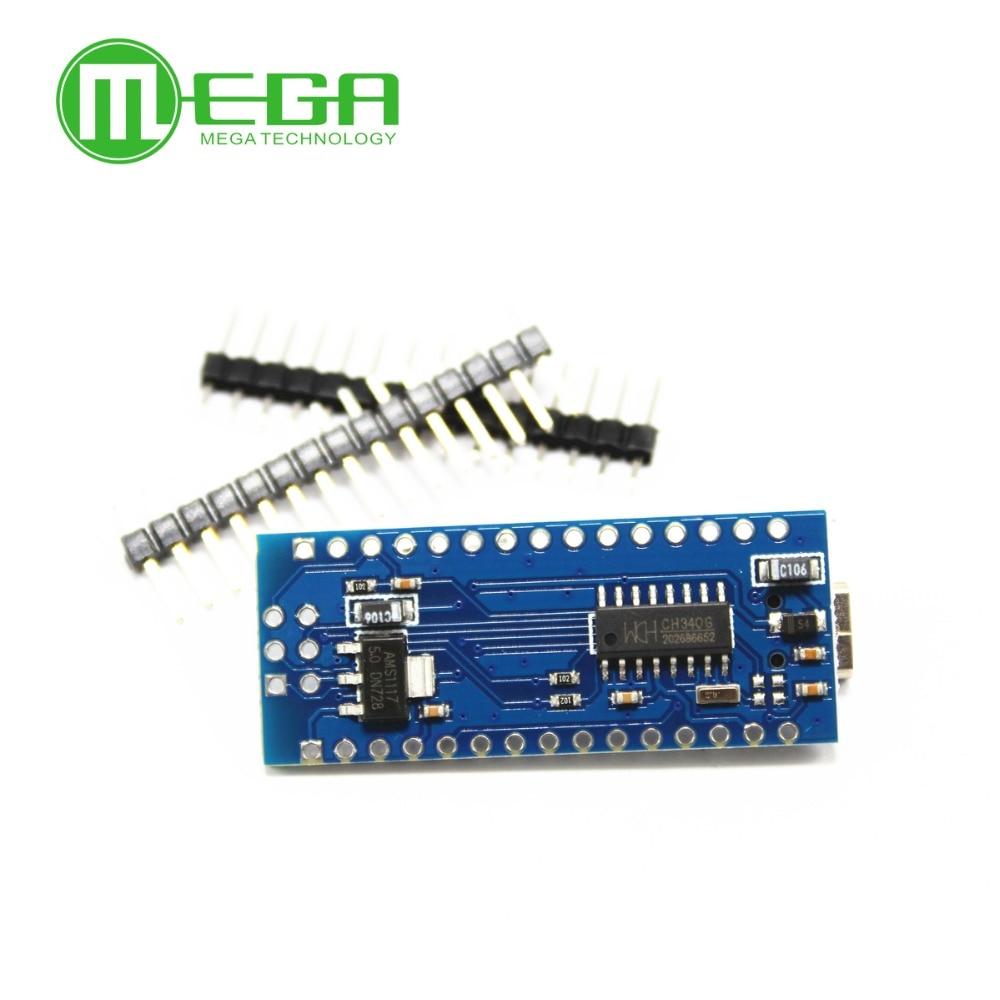 Image 3 - 100PCS Nano 3.0 controller compatible with nano CH340 USB driver NO CABLE nano v3.0Integrated Circuits   -