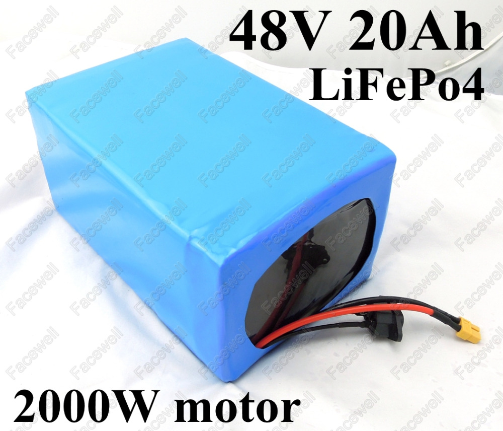 Great Power Lifepo4 Battery Pack 48v 20ah Bms 40a 1000w
