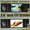 Nova Apoiar Traseira Da Câmera, Som Do Carro, Jogador MP5 12 V Áudio Do Carro de Vídeo MP5 FM, USB, SD, MMC, 1 mp5 player do carro um Din In-Dash, Controle Remoto 3615R