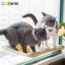 Cute Pet Hanging Beds Bearing 15kg Cat Sunny Seat Window Mount Hammock Bed Litter Mat EVA Double Layer