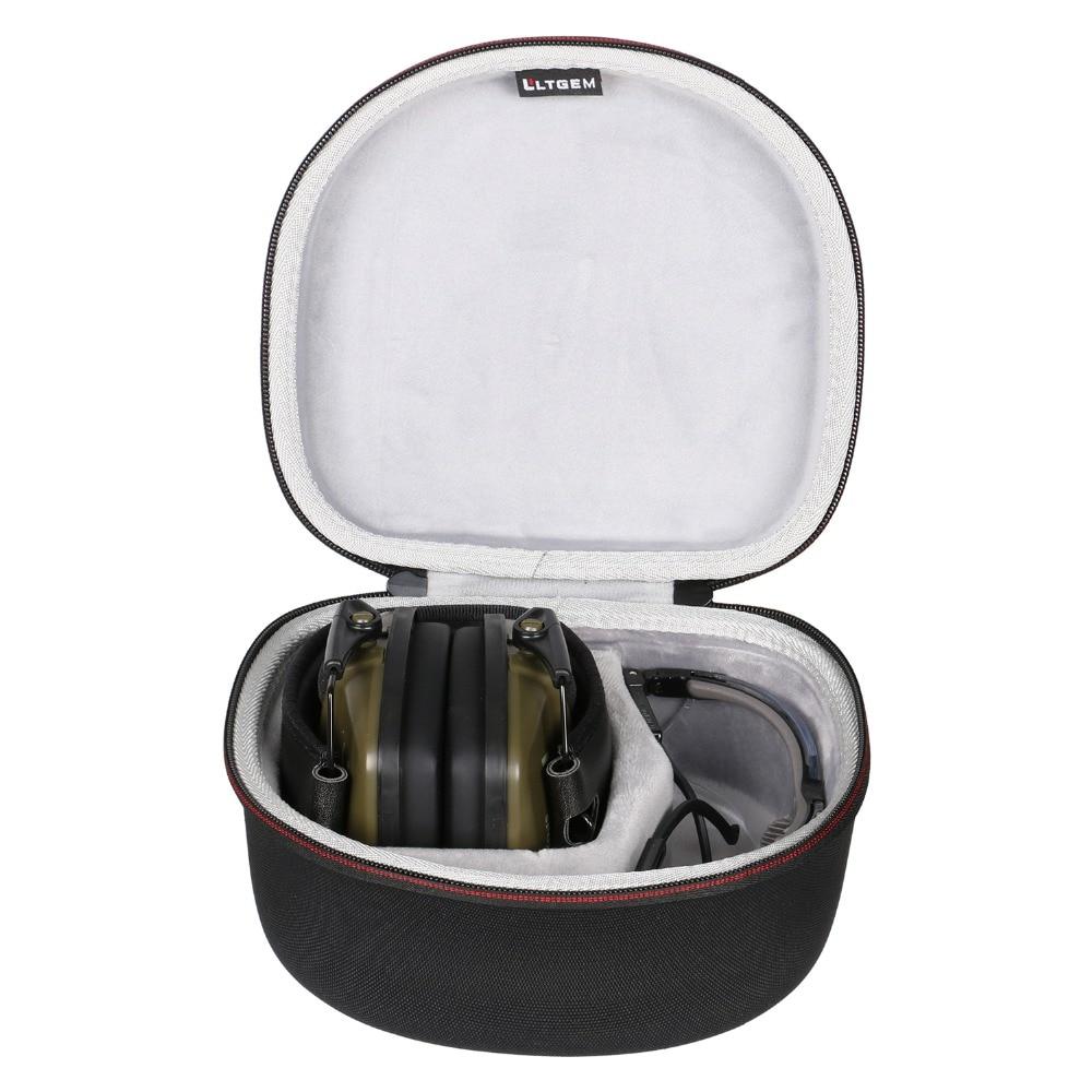 LTGEM Case For Both Howard Leight By Honeywell Or Awesafe GF01 Impact Sport Earmuff And Genesis Sharp-Shooter Safety Eyewear Gla