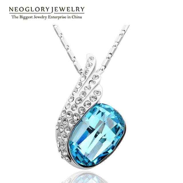 Neoglory Austrian Crystal Zinc Alloy  Necklace & Pendants for Women Jewelry 2017 New B1