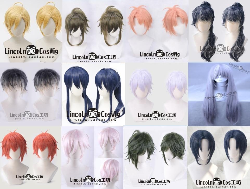 Track IDOLiSH7 RE:Vale Yuki Anime Orikasa Yukito Cosplay Costume Wig wig CAP