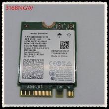 真新しいインテル 3168NGW デュアルバンドワイヤレス AC 3168 3168 AC 433 150mbps intel3168 bluetooth 4.2 802.11ac WiFi ネットワークカード