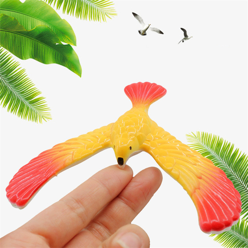 Interested Classic Plastic/Wooden Toy Balance Eagle Bird Toy Magic Box Balance Bird Disp ...