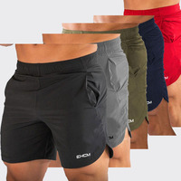 5 Piec EHCM Men Gyms Fitness Bodybuilding Shorts Mens Summer Casual Cool Short Pants Male Jogger Workout Beach Brand Breechcloth