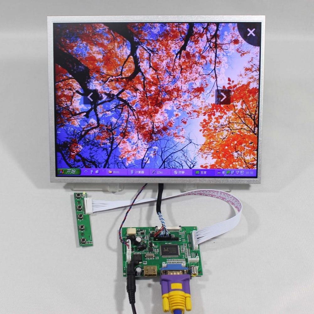 HDMI+VGA+2AV LCD driver board VS-TY2662-V1+12.1inch AC121SA01 800X600 lcd panel hdmi vga 2av reversing driver board 8inch at080tn52 800 600 lcd panel