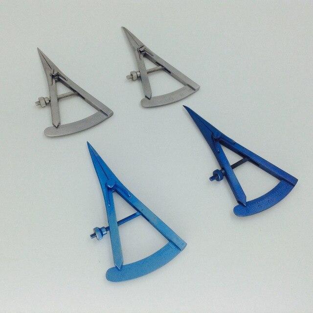 Instrumento quirúrgico oftálmico de 20mm de titanio/acero inoxidable