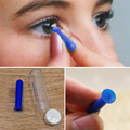 1X Contact Lens Inserter Solid & Hollow Remover For Hard GP Lenses Halloween Colored Fashion Lenses Tool