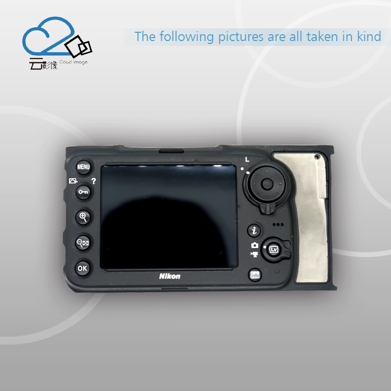 Free Shipping!D810 New rear back cover plate with button LCD part replacement suitable for Nikon free shipping 95%new camera back cover for sony nex 5r nex5r rear cover with door replacement repair part black