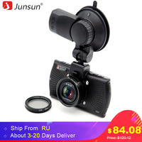 Junsun Ambarella A7LA70 Car DVR Camera Full HD 1080P With CPL GPS Logger Speedcam Night Vision