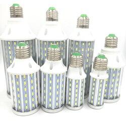 Super bright Led Corn light E27 E14 B22 SMD 5630 85-265V 42 60 72 90 108 140 160 210 leds LED bulb 360 degree Lighting Lamp