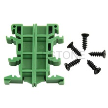 OOTDTY High Quality PCB Circuit Board Mounting Bracket For DIN C45 Rail Mounting Simple(China (Mainland))
