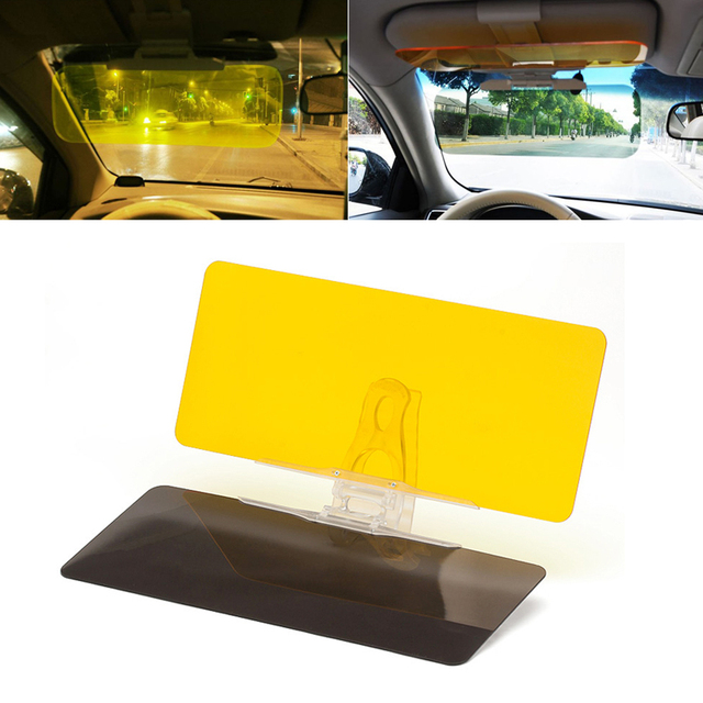 Car Sun Visor HD Car Anti-Glare Dazzling Goggle Day Night Vision Driving  Mirror UV Fold Flip Down HD Clear View Visor f100164c678