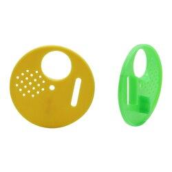 Okrągłe drzwi ula plastikowe Apiculture Honeycombs Flow Frame sprzęt pszczelarski pszczoły gniazdo drzwi 10 sztuk