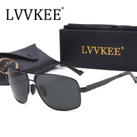 LVVKEE Tech Semi Rimless Aviator Sunglasses Silver Mirrored Clear Visibility Polarized Lens Men S Cool Driving