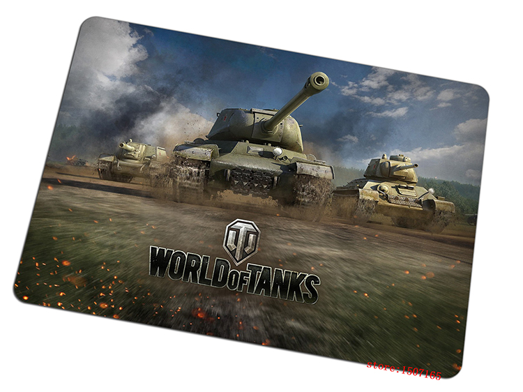 cool world of tanks mouse pad full ahead large pad to mouse computer mousepad wot High quality gaming mouse mats to mouse gamer