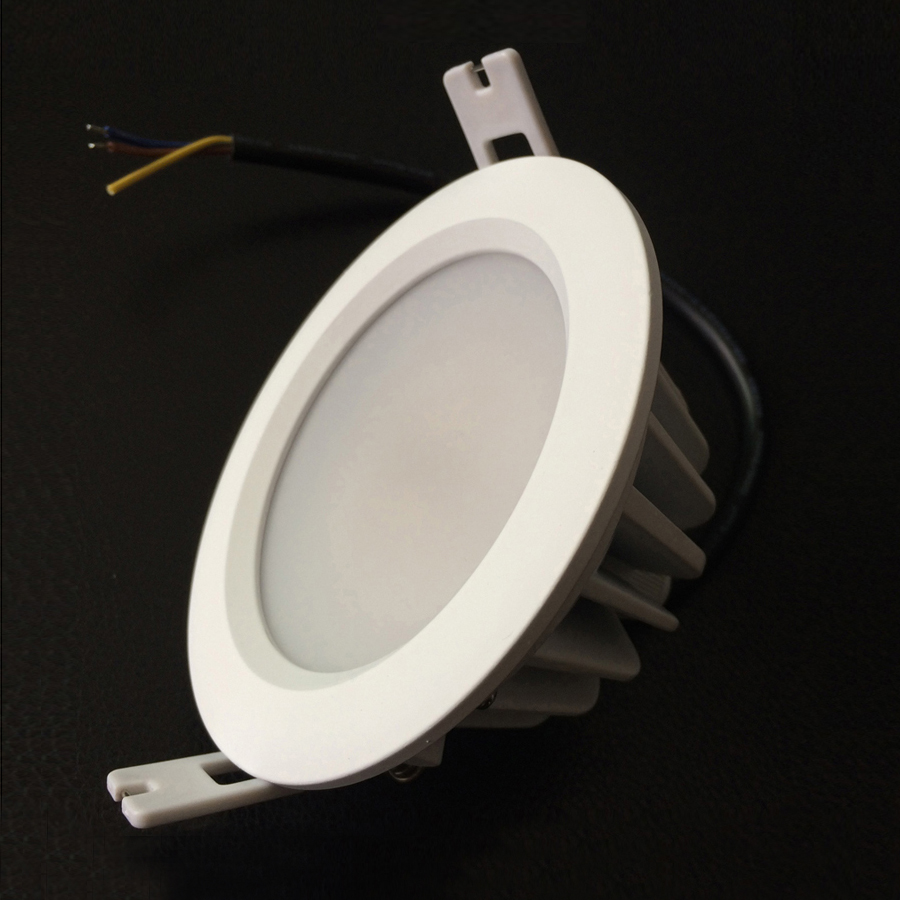 12pcs/lot 8W IP65 Recessed LED Downlight Driverless Dimming LED Spot ...