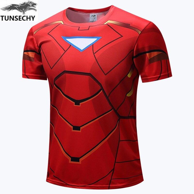 Batman Spiderman Ironman Superman Captain America Winter soldier T shirt Avengers Costume Comics Superhero mens 74