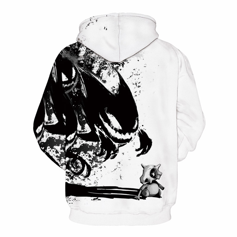 Men&Women Hoodies Pokemon Men 3D Print Harajuku Punk Style Sweatshirts Couple Hoodie Motorcycle Streetwear