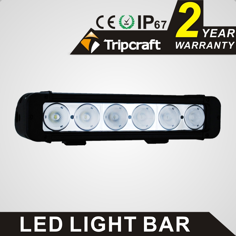 TRIPCRAFT 60w led work light bar 5100lm spot flood combo beam car driving lamp for offroad 4x4 truck ATV fog lamp high quality spot flood combo 72w led working lights 12v 72w light bar ip67 for tractor truck trailer off roads 4x4 led work light
