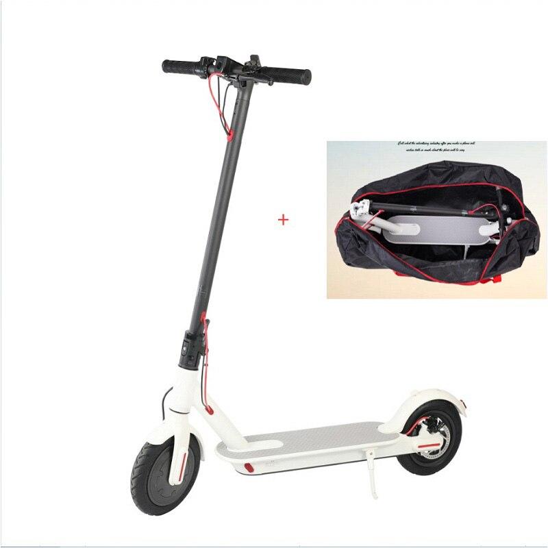 8 pouces scooter électrique pliant en alliage d'aluminium scooter 2 roues debout hoverboard rapide gamme puissante capacité coup de pied scooter