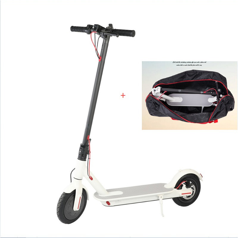 8inch electric scooter Folding aluminum alloy scooter 2 wheel standing fast hoverboard Powerful Range capability kick scooter цена