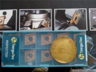 Taegutec 80 degree  Rhombic inserts   CNMG120408PC TT8115  wholesale CNMG 120408 PC TT8115  for High speed turning of steel