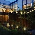 30LED Solar Luces Led Impermeable Al Aire Libre Jardín Lámpara Decorativa de Navidad de Hadas de La Lámpara Bola de la Burbuja Holiday lighting Cuerdas