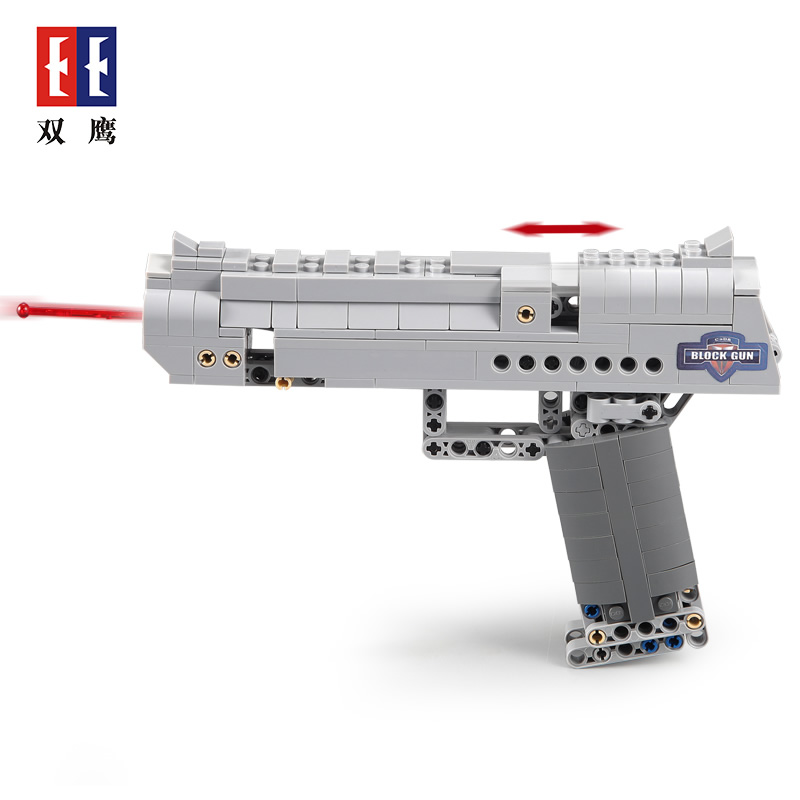 Revolver Pistol Power GUN Technic Call of Military Duty Building Blocks Brick Weapon Legoingly SWAT Ww2 Silah Toys for Boys image