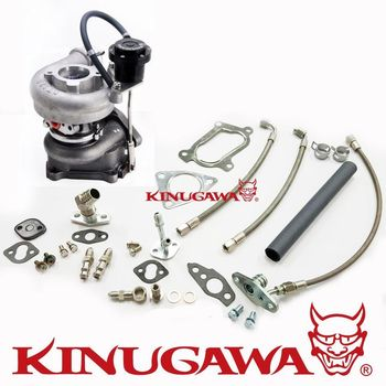 Турбокомпрессор kinugawa для Toyota Hilux/Landcruiser 1KZ-TE KZN130 4runner 3,0 CT12B