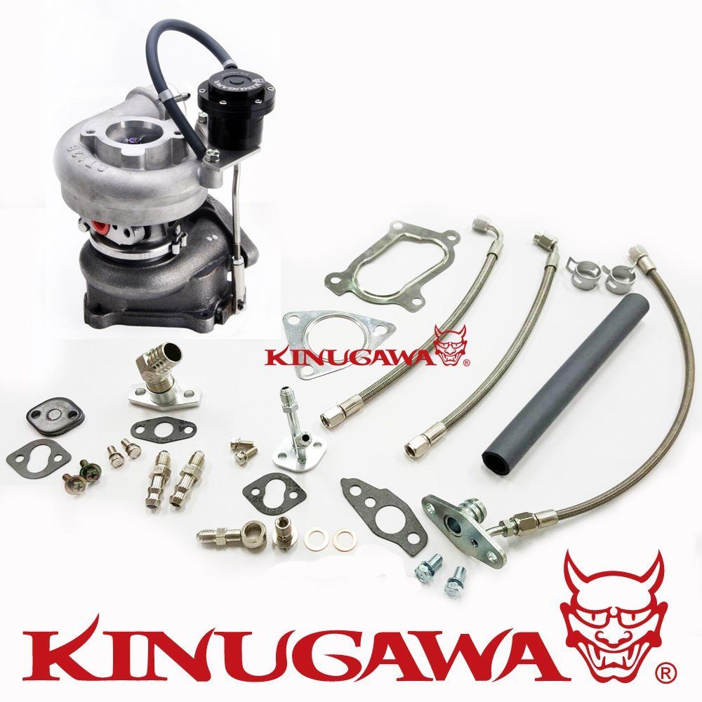 Kinugawa Turbocharger For Toyota Hilux    Landcruiser 1kz Te Kzn130 4 Runner 3 0 Ct12b
