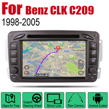 Auto DVD Player GPS Navigation For Mercedes Benz CLK C209 W209 1998~2005 NTG Car Android Multimedia System Screen Radio Stereo 7 android 9 0 car multimedia player for mercedes benz clk w209 w203 w208 w463 1998 2004 stereo dvd radio video gps navigation