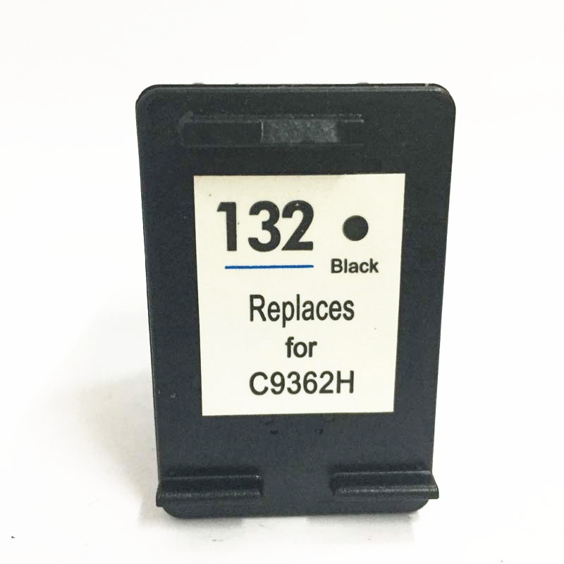 Vilaxh 132 <font><b>Ink</b></font> cartridge Replacement for <font><b>hp</b></font> 132 Compatible Photosmart <font><b>C3100</b></font> C3150 C3183 PSC 1500 1510 1513 1600 6210 Printer image