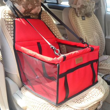 Double Thick  Travel Accessories  Mesh Hanging Bags Folding  Pet Supplies Waterproof Dog Mat Blanket Safety  Pet Car Seat Bag 3