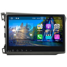 2GB RAM Quad core Android 7.1.2 Car Radio Bluetooth 1 din car stereo support 4G LTE For Honda CIVIC 2012