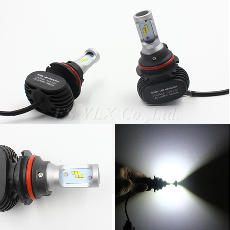 FSYLX NEW Plug&Play LED 9007 HB5 Hi/Lo bulb 50W 8000LM 6000K WHITE BULB REPLACEMENT CONVERSION DRL Fog HEADLIGHT we hi capa 5 1 type k в санкт петербурге