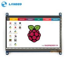 Raspberry Pi 3 Pantalla HDMI 7 Pulgadas 800*480 LCD con Monitor de la Pantalla táctil para Raspberry Pi 3 B +/2B Pcduino Plátano Pi