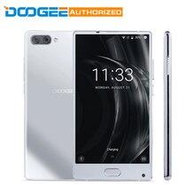Doogee Mix серебро 6 ГБ Оперативная память 64 ГБ Встроенная память 4 г смартфон 5.5 дюймов Android 7.0 helio P25 Восьмиядерный 2.5 ГГц металла Средства ухода за кожей спереди fingerpr