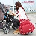 Venta caliente Nuevo Estilo Coreano Bolsas de Bebé para la Mamá, de Múltiples Funciones Del Pañal Del Bebé Bolsa de Viaje Mochila, Bolso de Las Mujeres Bebé Mochila de pañales