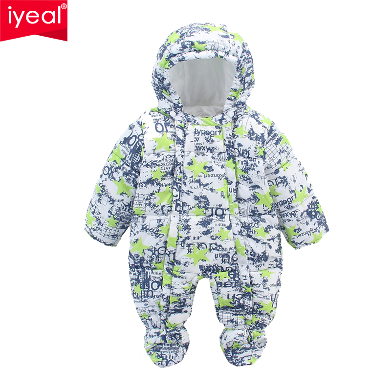 Brand Baby Rompers Winter Boys Outerwear Girls Warm Clothes High Quality Kids Jumpsuit Newborn Down Cotton Clothing for 0-12M new 2017 brand quality 100% cotton newborn baby boys clothing ropa bebe creepers jumpsuit short sleeve rompers baby boys clothes