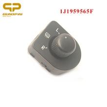 Auto Left Driving Side Mirror Adjust Switch Button Knob Heat Control 1J1959565F 1J1 959 565 F For VW  Golf Beetle MK4