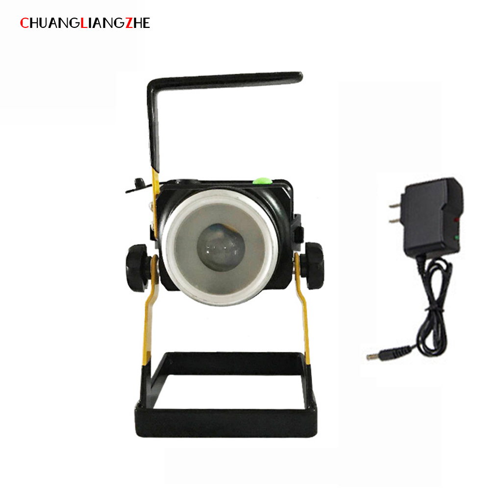 CHENGLIANGZHE LED Floodlight Work Maintenance Lights CREE XPE Portable Portable Lighting Searchlights Waterproof 1200 Lumens