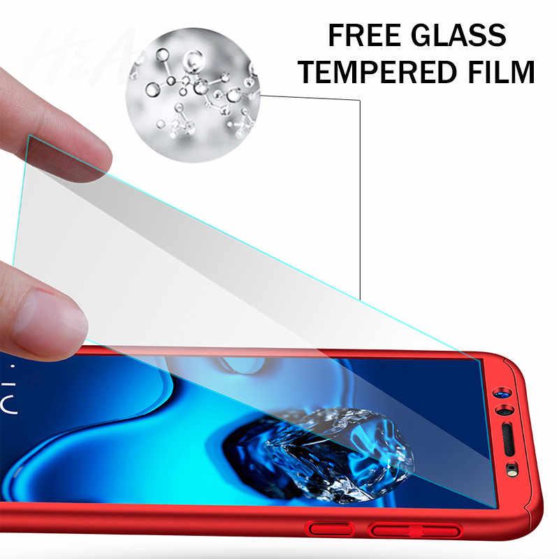 360 Degree Full Cover Phone Case For Huawei Nova 2 2s 3 3i 3e P smart Screen Protector Phone Cover Honor V9 Play 10 Lite Case