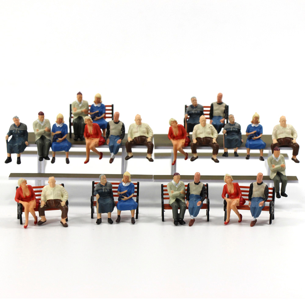 Lot 8 pcs O scale 1:43 unpainted figures Fireman Model Railway Train layout