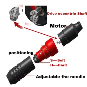 Image 2 - Newst Rocket V3 קעקוע מכונת רוטרי עט עם שוויצרי מנוע חזק שקט עבור מחסנית קעקוע אניה וshader אספקה